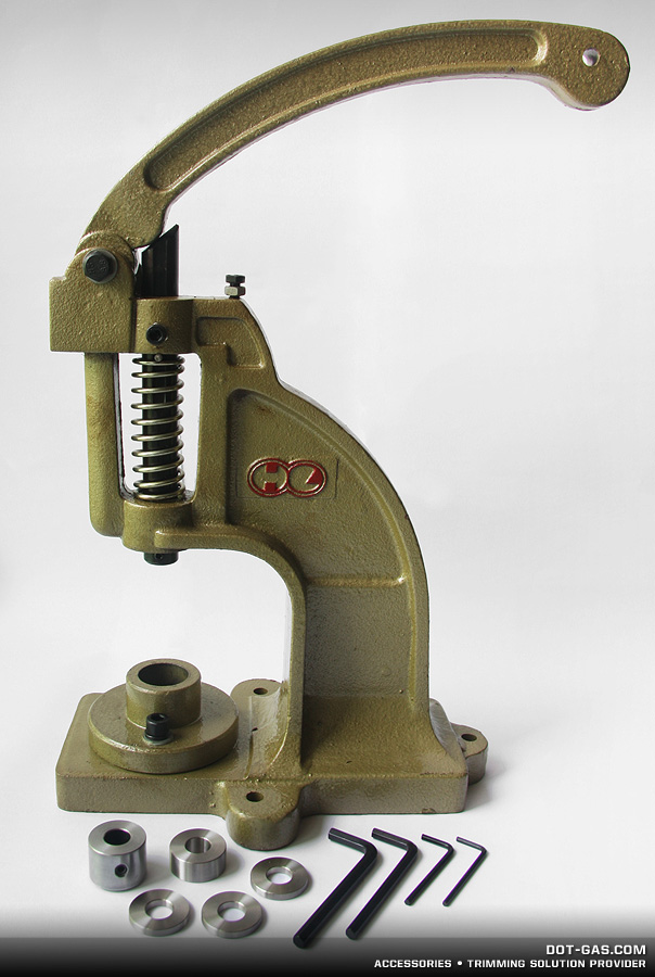 refitted KAM grommet hand press
